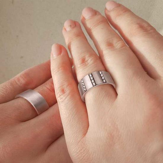 illustrasjon med hånd av gifteringer – NT1970-1170