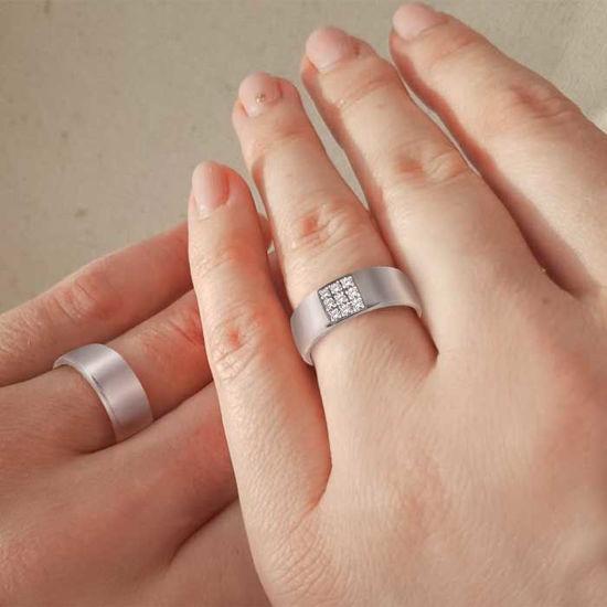 illustrasjon med hånd av gifteringer – NT1570-1270