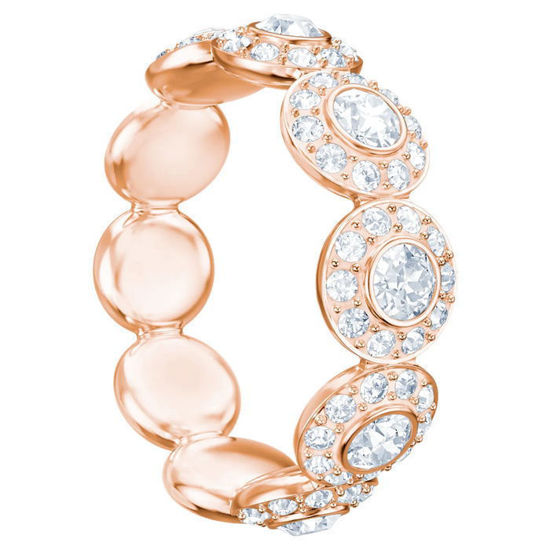 Swarovski ring Angelic, rose - 5424994