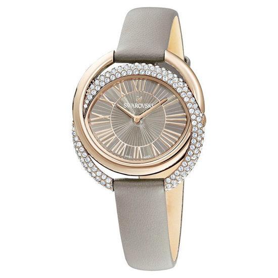 Swarovski klokke Duo, grå - 5484382