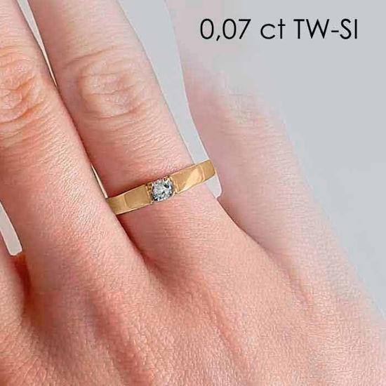 illustrasjon med hand av diamantring – 85010070
