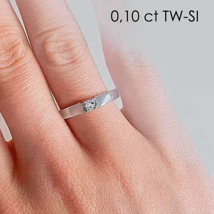 illustrasjon med hand av diamantring – 8501010