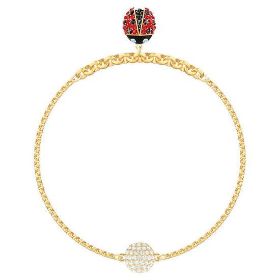 Swarovski armband Ladybug Strand, gult - 5466832