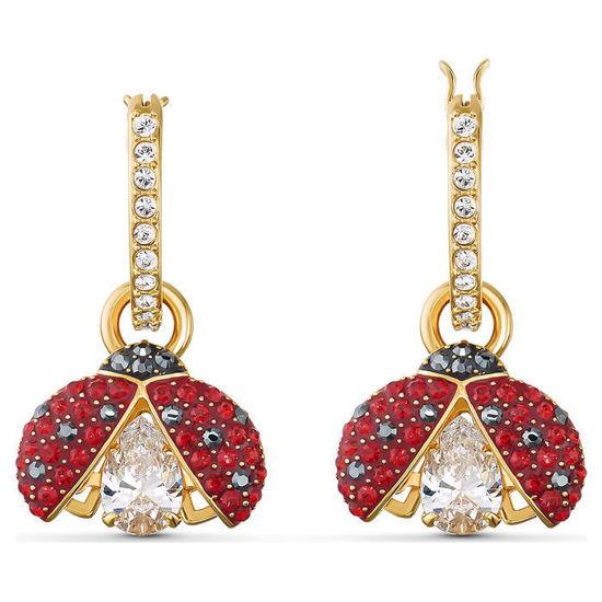 Swarovski øredobber Sparkling Dance Ladybug - 5537490