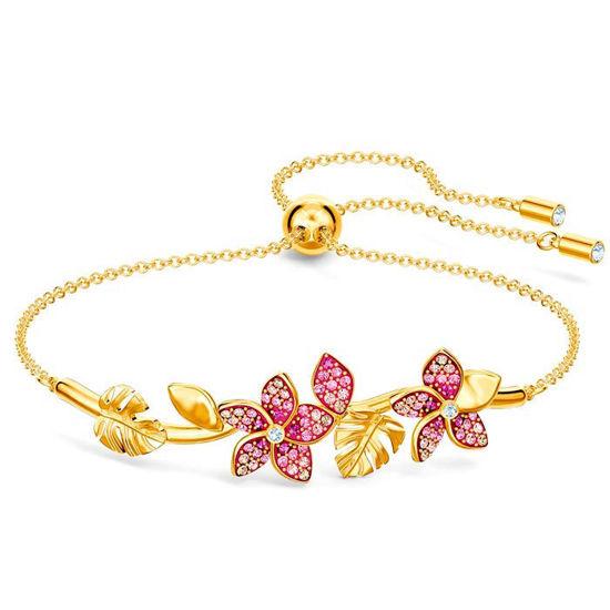 Swarovski armband Tropical Flower, pink - 5521058