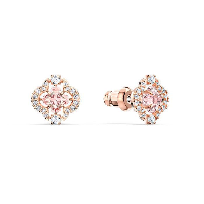 Swarovski smykkesett  Sparkling Dance, rose - 5516488