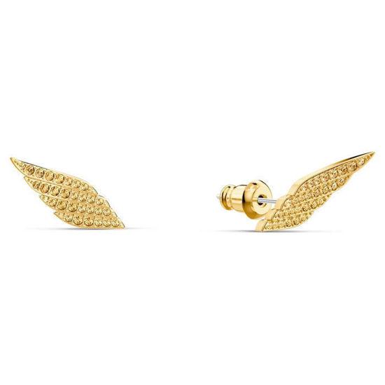 Swarovski øredobber Fit Wonder Woman Pierced Earrings, Gold tone, Gold-tone plated - 5492148
