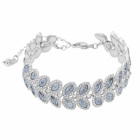 Swarovski armband Baron, blå & hvite krystaller - 5074352
