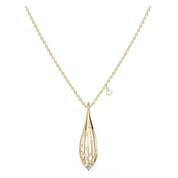 Swarovski smykke Olive, gult - 5515466