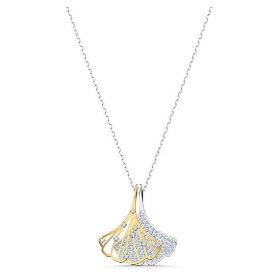 Swarovski smykke Ginko, hvitt - 5515462