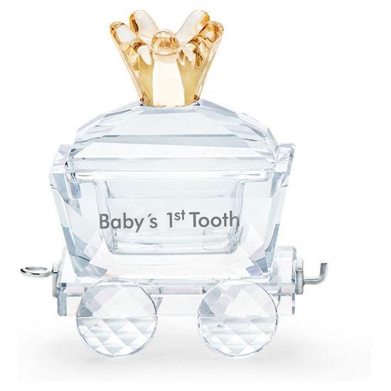 Swarovski figurer Babys 1st Tooth Wagon - 5492218