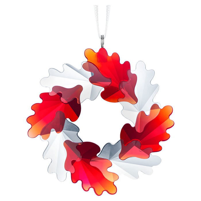 Swarovski figurer Wreath Ornament, leaves - 5464866