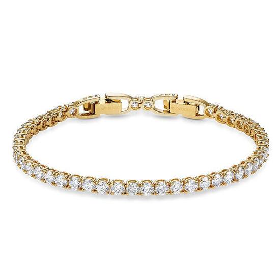 Swarovski armband. Tennis, gult  - 5511544