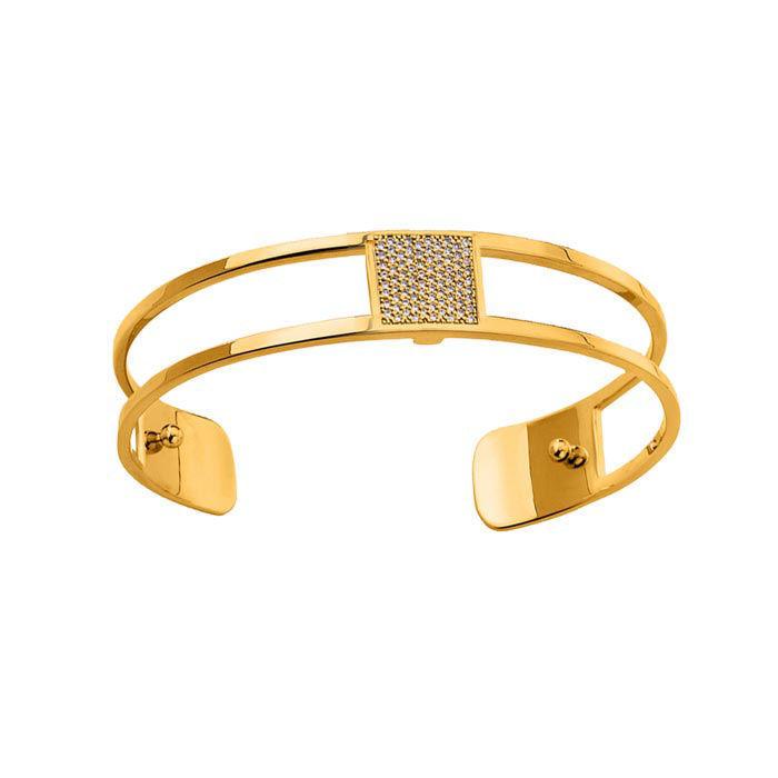 Armbånd fra Les Georgettes, gullfarget, 8 mm -100004