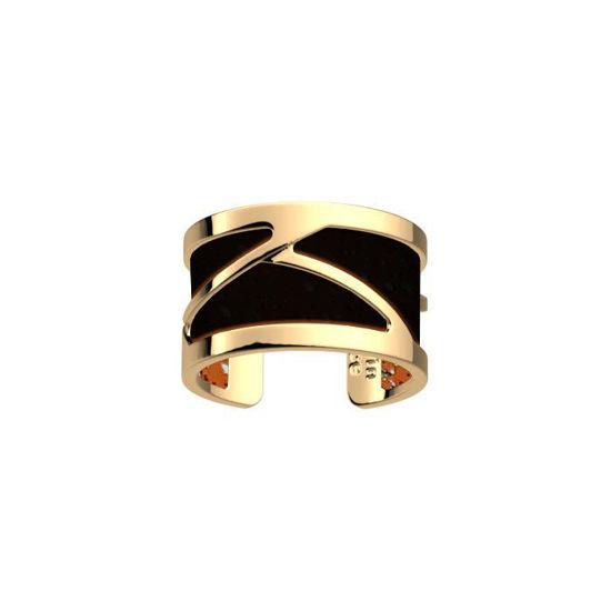 Ring Tresse 12 mm,  gullfarget, Les Georgettes -100104