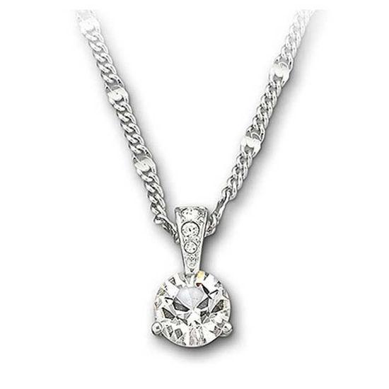 Swarovski smykke Solitaire, hvitt - 1800045