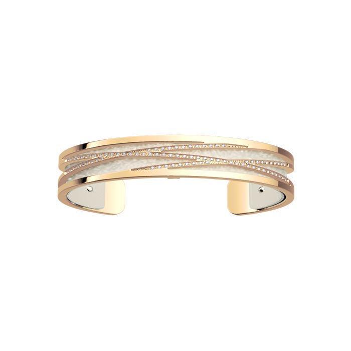 Armbånd Liens fra Les Georgettes, gullfarget, 8 mm -100005