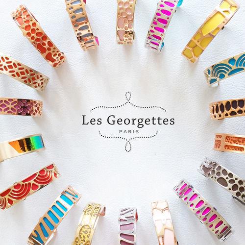Armbånd fra Les Georgettes, gullfarget, 14 mm -100003