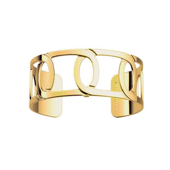 Armbånd Maillon 25 mm, gullfarget Les Georgettes -100001