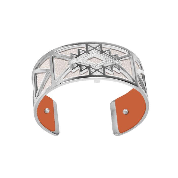 Armbånd Stjerne 25 mm, sølvfarget Les Georgettes -100010