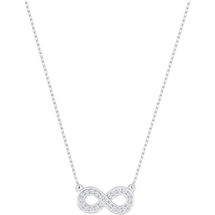 Swarovski smykke Women Infinity, hvitt - 5358777