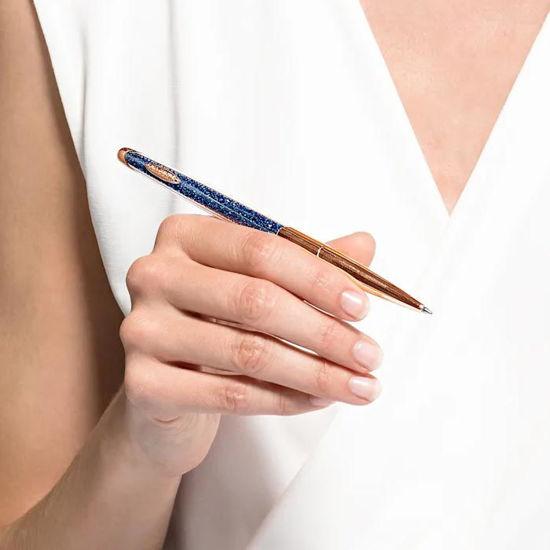 Swarovski pen Crystalline Nova Ballpoint, blå - 5534319