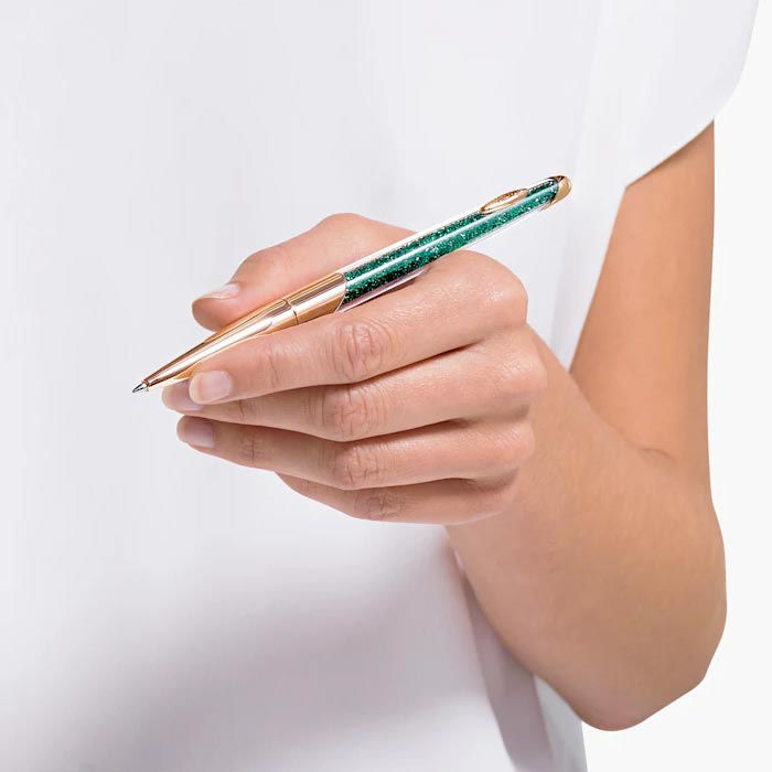Swarovski pen Crystalline Nova Ballpoint, grønn - 5534326