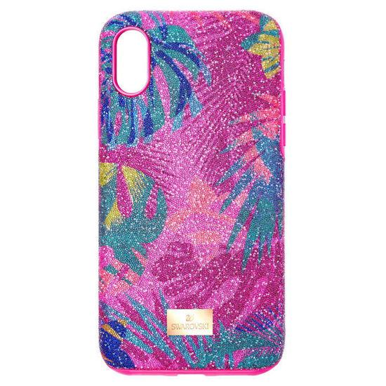 Swarovski  Iphone Xs Max deksel Tropical, mørk - 5533971