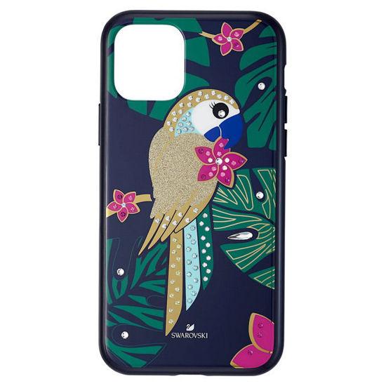 Swarovski  Iphone 11 Pro deksel Tropical Parrot, mørk - 5534015