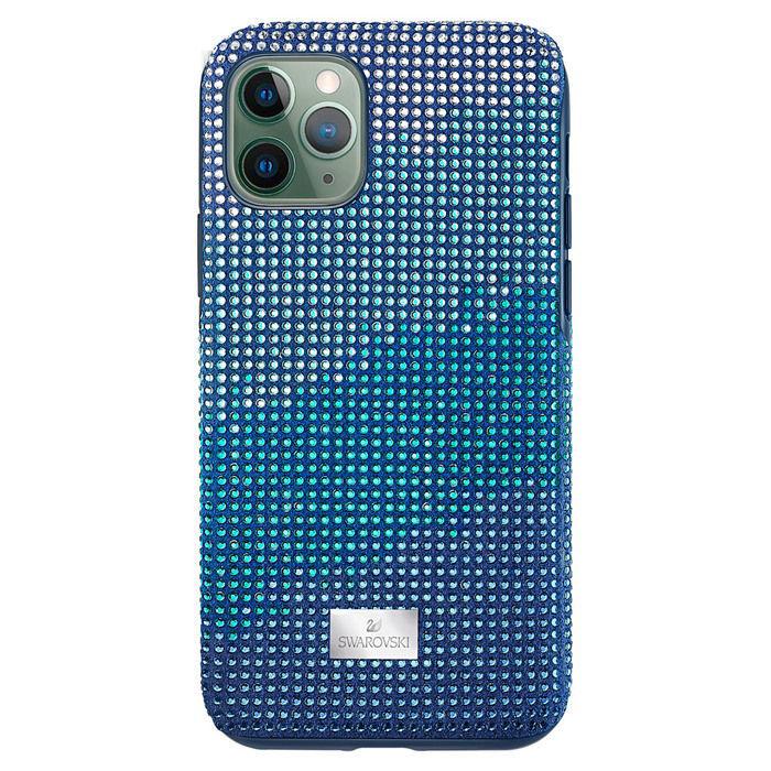 Swarovski  Iphone 11 Pro deksel Crystalgram, blå - 5533958