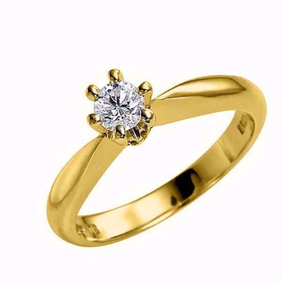 Diamantring forlovelsesring  Athene 0,31 ct D/E-Si2 med GIA -50326031
