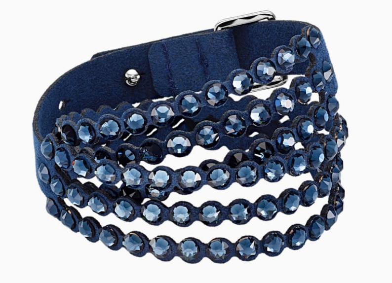Bilde av Swarovski armband Power Collection, blått - 5511697