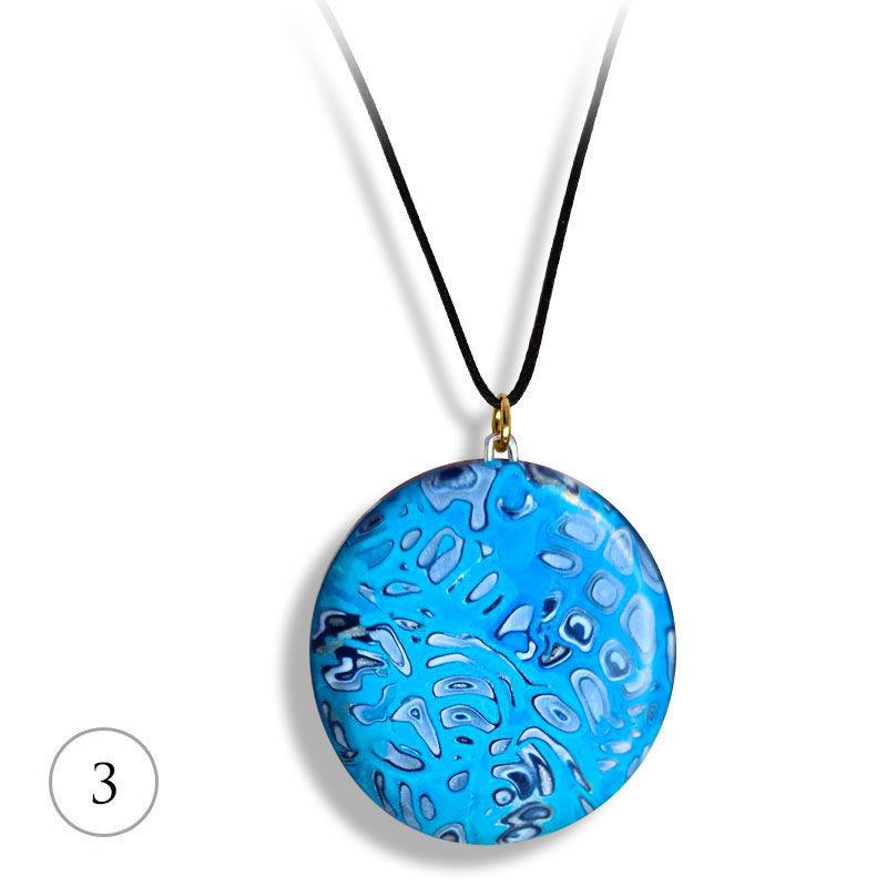 Smykke Deep blue sea, håndlaget -28020706