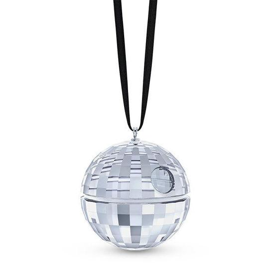 Swarovski figurer. Death star ornament - 5506807