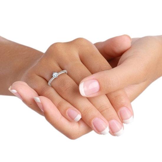 illustrasjon med hånd av gifteringer- 18001030