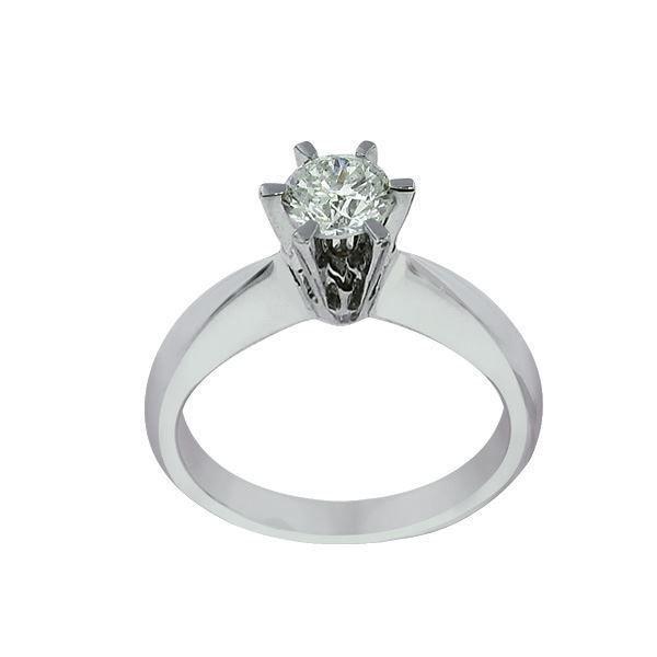 Bilde av Diamantring forlovelsesring  Athene 0,50ct R-Si-50329050