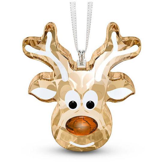 Swarovski figurer Gingerbread Reindeer Ornament - 5533944