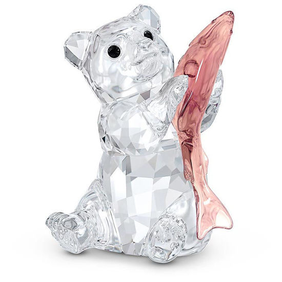 Swarovski figurer Bear with Fish - 5536772
