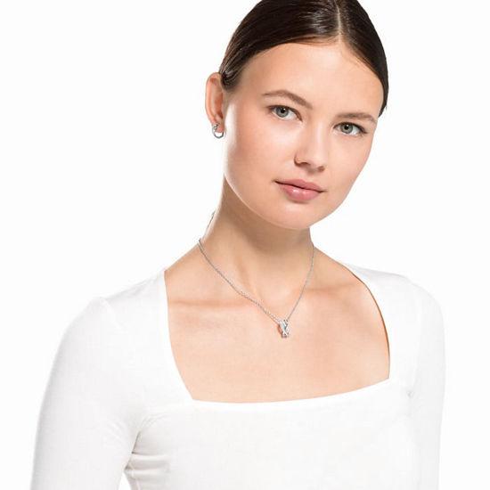 Swarovski smykkesett Twist, hvitt - 5579790