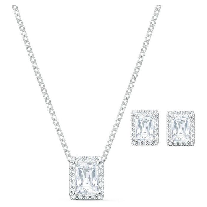 Swarovski smykkesett Angelic Set, hvitt - 5579842