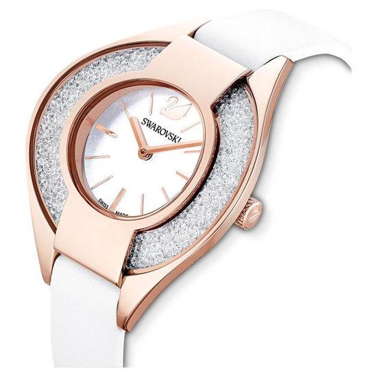 Swarovski klokke Crystalline Sporty, hvitt - 5547635