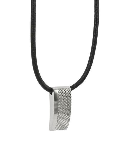 Herrekjede LEXUS i stål, 51cm/6cm - 362679
