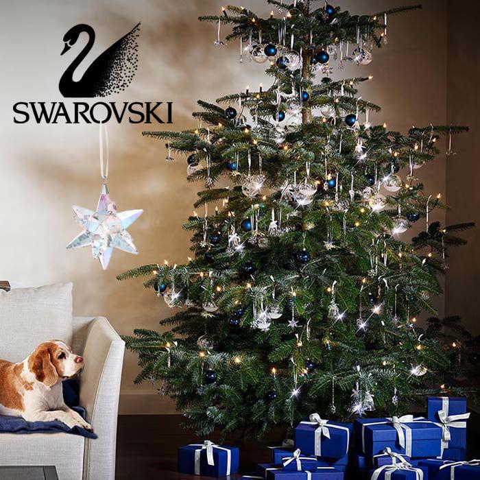 Swarovski figurer Star Ornament, Shimmer, medium - 5545450