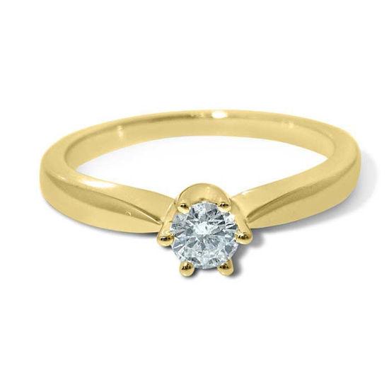 Diamantring forlovelsesring Ida 0,15 ct W-PI - COC0098500