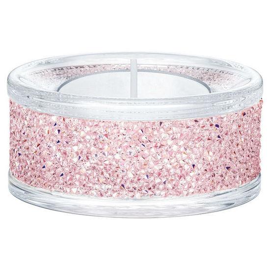 Swarovski Shimmer Tea Light Holders, rosa - 5474276