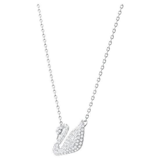 Swarovski smykke Swan, hvit - 5007735