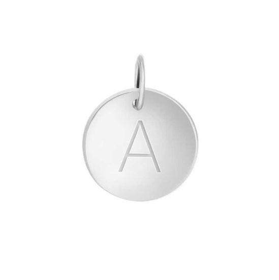 Bukstavsmykke i sølv, liten A - 35227
