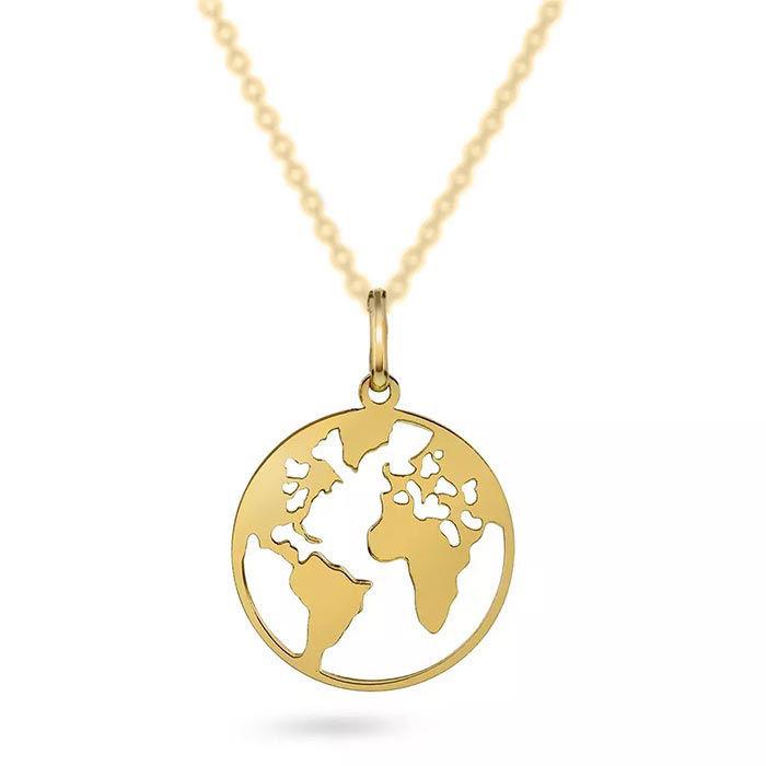 Smykke i gull - verdenskart -56610