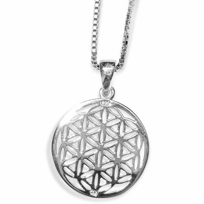 Sølv smykke sirkel -1312201812