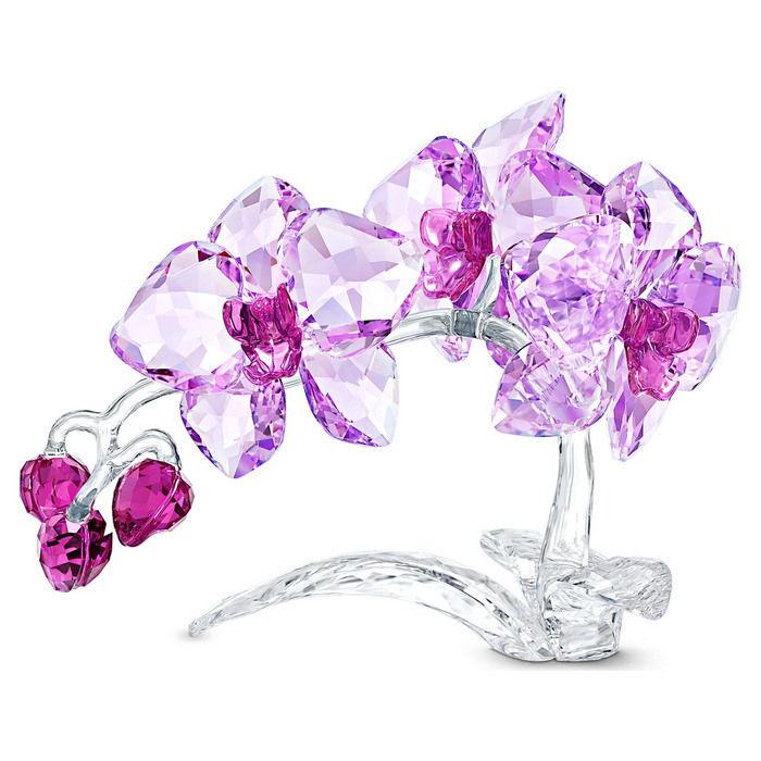 Swarovski figur Crystal Flowers Orchid - 5520373